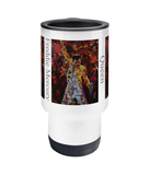 Freddie Mercury Collage Travel Mug 14oz - multymedia
