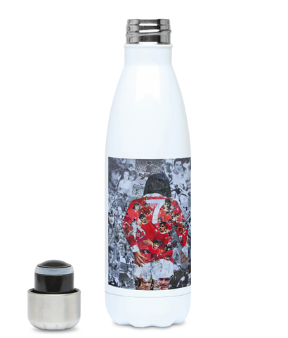 George Best Water Bottle 500ml Hot or Cold - multymedia