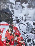 George Best Canvas Print - multymedia