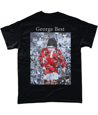 George Best Short-Sleeve T-Shirt - multymedia