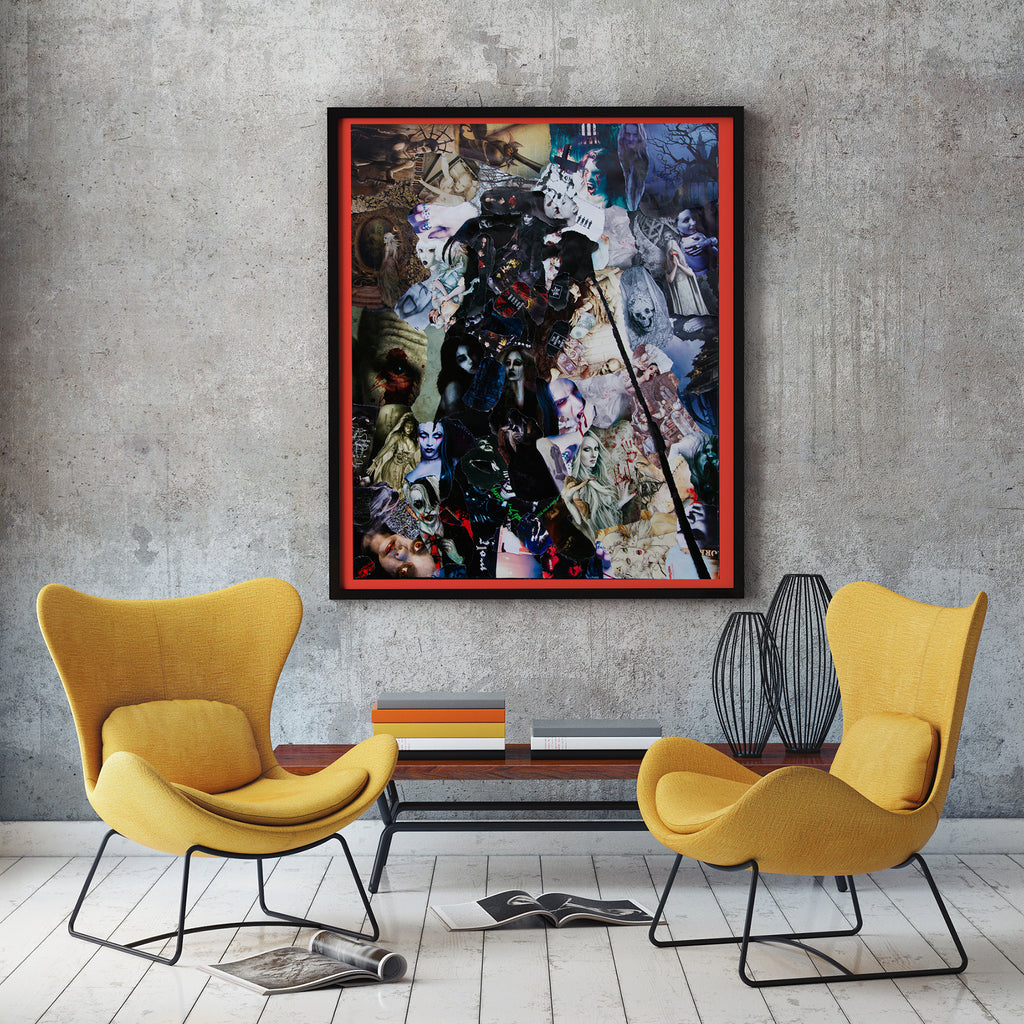 Goth Canvas Print - multymedia
