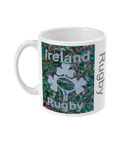 Ireland Rugby Collage Mug - multymedia