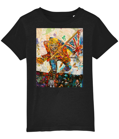 Iron Maiden Collage Kids T-Shirt