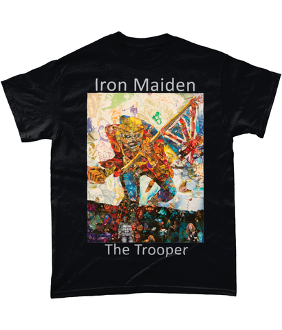 Iron Maiden The Trooper Short-Sleeve T-Shirt - multymedia
