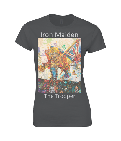 Iron Maiden Collage Womens T Shirt