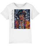 Jimi Hendrix Collage Kids T-Shirt