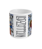Led Zeppelin Jimmy Page Mug - multymedia