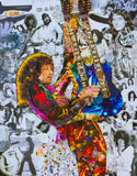 Led Zeppelin Jimmy Page Canvas Print - multymedia