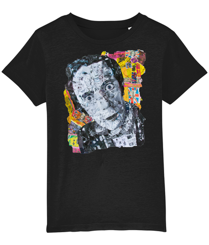 Johnny Rotten Collage Kids T-Shirt
