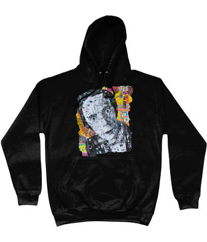 Johnny Rotten Sex Pistols Collage Hoodie