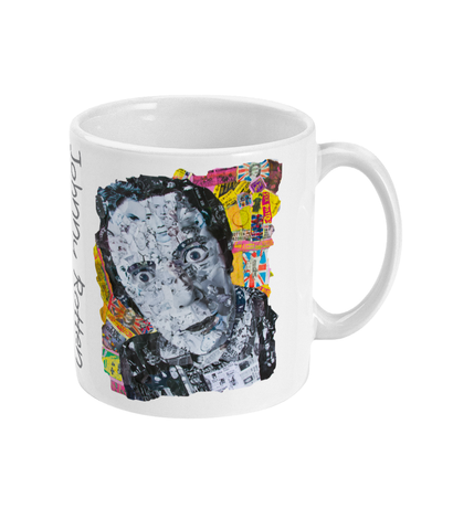 Johnny Rotten Sex Pistols Collage Mug