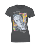 Johnny Rotten Collage Womens T Shirt