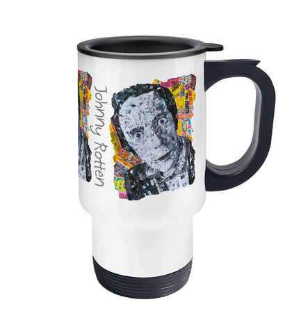 Johnny Rotten Sex Pistols Collage Travel Mug 14oz