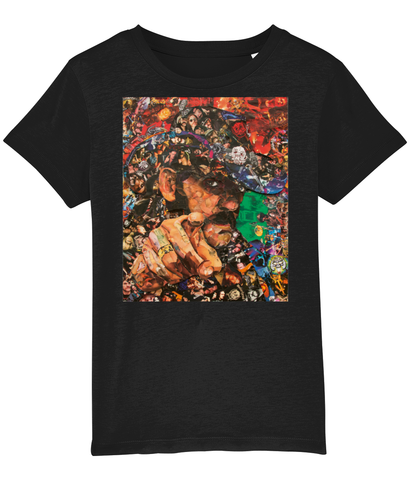 Lemmy Collage Kids T-Shirt