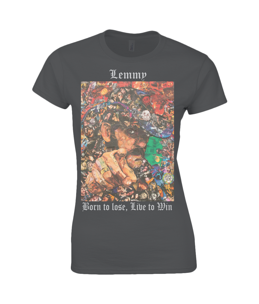 Lemmy Collage Womens T Shirt