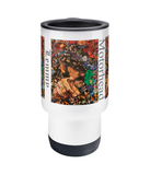 Lemmy of Motorhead Collage Travel Mug 14oz - multymedia