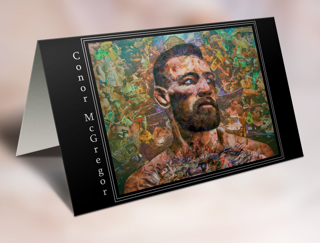 Conor McGregor Greeting Card - multymedia