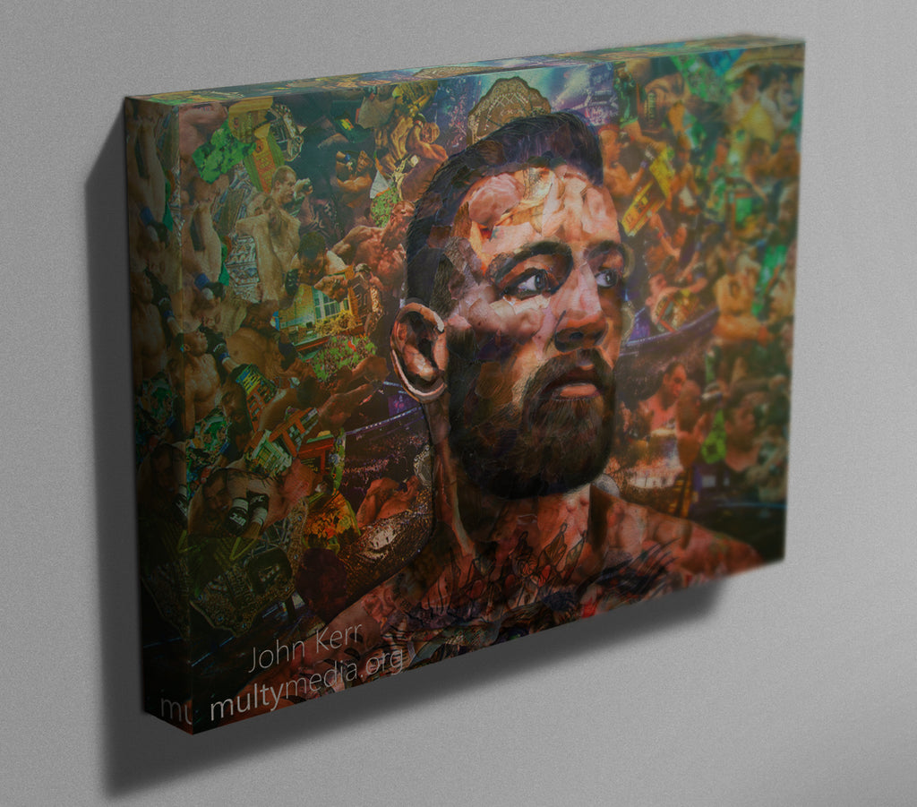 Conor McGregor Canvas Print - multymedia