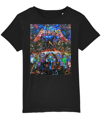 Metallica Master of Puppets Collage Kids T-Shirt