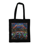 Metallica Master of Puppets Collage Tote Bag