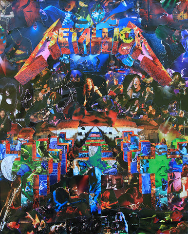 Metallica Master of Puppets (Black) Collage / Art - multymedia
