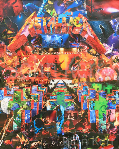 Metallica Master of Puppets Collage / Art - multymedia