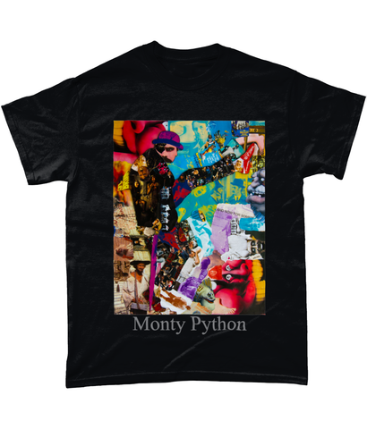 Monty Python Collage Short-Sleeve T-Shirt - multymedia