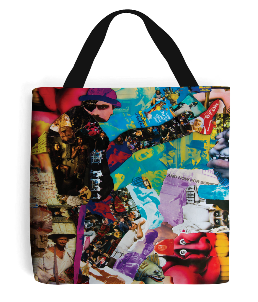 Monty Python Collage Tote Bag - multymedia