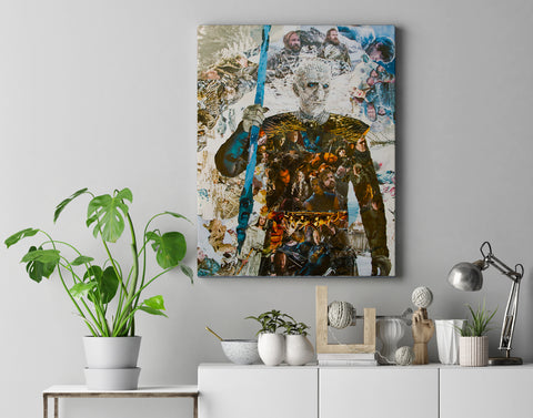 Game of Thrones Night King Canvas Print - multymedia
