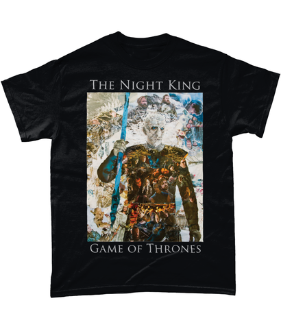 Game of Thrones Night King Short-Sleeve T-Shirt - multymedia
