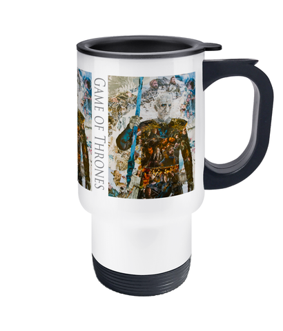 Game of Thrones Collage Travel Mug 14oz - multymedia