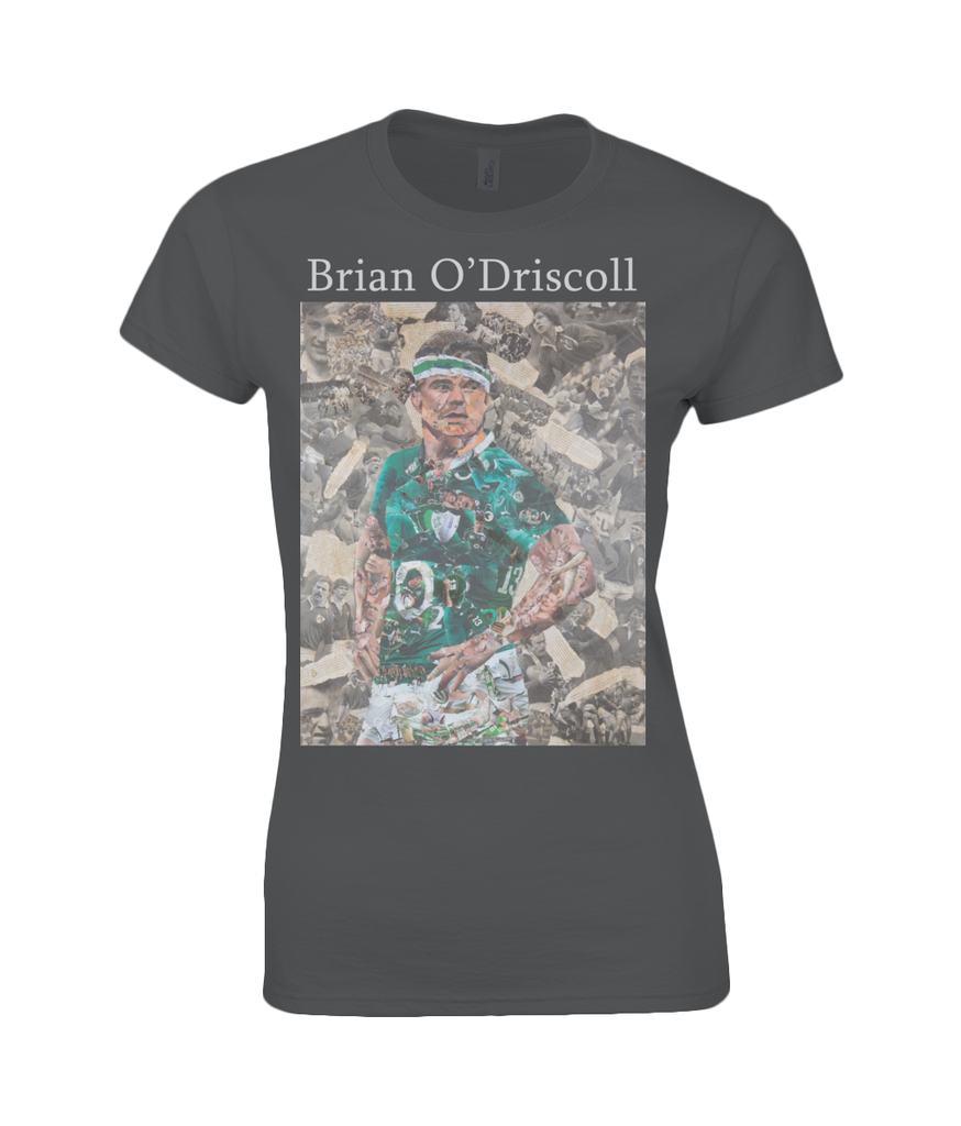 Brian O'Driscoll Collage Womens T Shirt