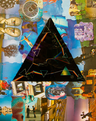 Pink Floyd Darkside Collage Poster 1
