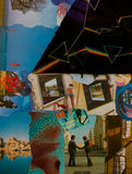 Pink Floyd Darkside Collage Poster 1 - multymedia