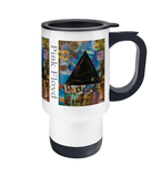 Pink Floyd Collage Travel Mug 14oz - multymedia