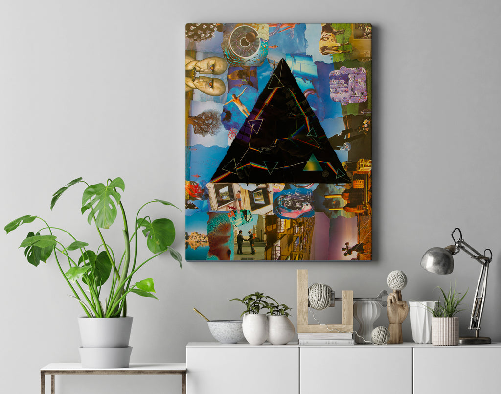 Pink Floyd Darkside Canvas Print 1 - multymedia