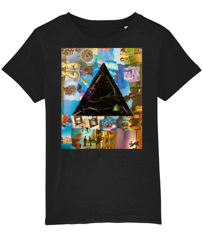 Pink Floyd Darkside Collage Kids T-Shirt