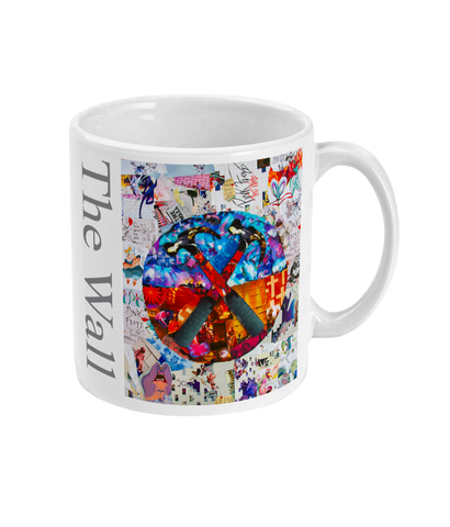 Pink Floyd The Wall Collage Mug - multymedia