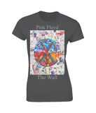 Pink Floyd The Wall Collage Womens T Shirt