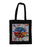 Pink Floyd The Wall Collage Tote Bag - multymedia