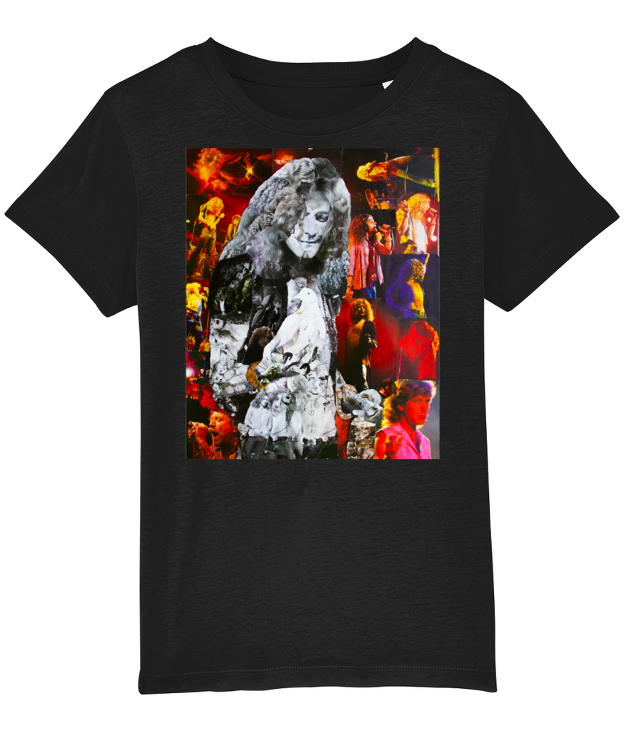 Robert Plant Collage Kids T-Shirt
