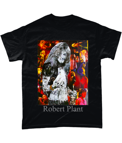Robert Plant Collage Short-Sleeve T-Shirt - multymedia