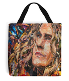 Robert Plant Collage Tote Bag