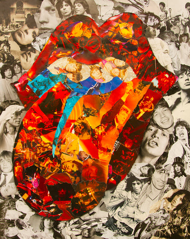 Rolling Stones Collage /  Art - multymedia