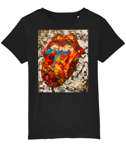 Rolling Stones Collage Kids T-Shirt