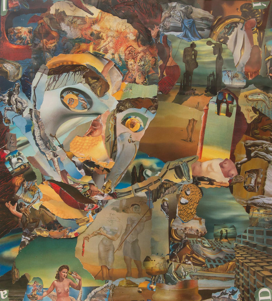 Salvador Dali Collage - multymedia