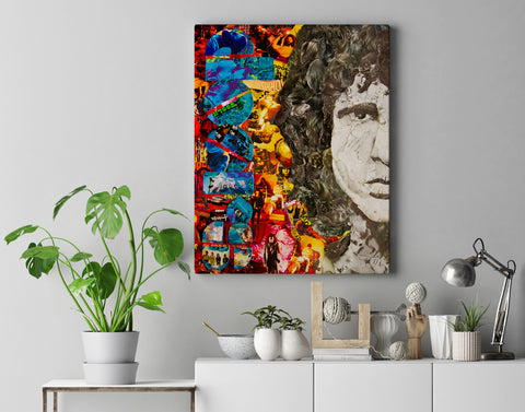 jim Morrison Canvas Print - multymedia