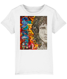 Jim Morrison Collage Kids T-Shirt
