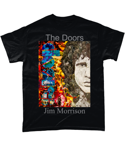 Jim Morrison Short-Sleeve T-Shirt - multymedia