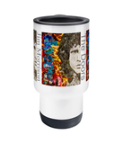 The Doors Collage Travel Mug 14oz - multymedia